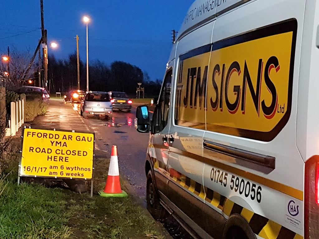 JTM Signs | JTM Signs | Road Signs & Traffic Management 01745 590056